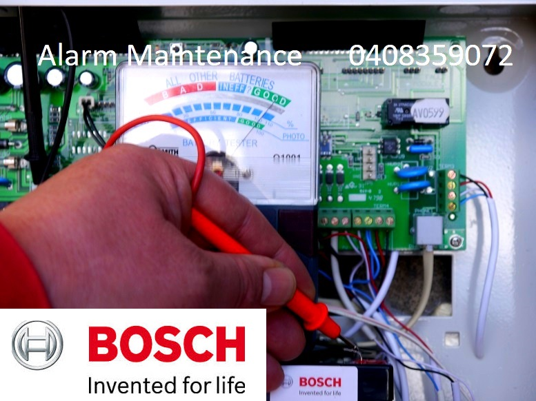 bosch alarms fixing faulty security systems