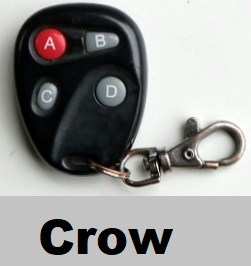 crow alarm remote control repairs replacements