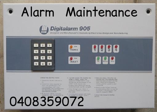 edm digitalarm-905 control panel