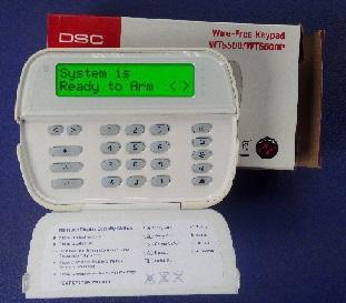 dsc wireless keypad wt5500