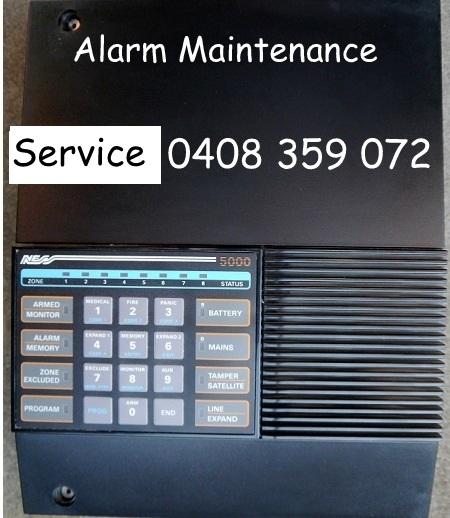 alarm repairs ness 5000 Panel