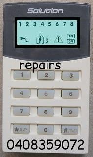 edm alarm keypad