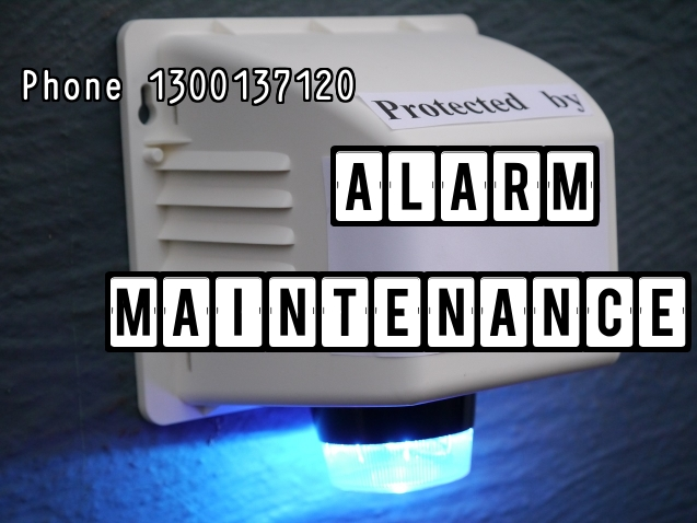alarm maintenance strobe